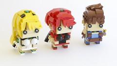 Xenoblade 2 Brickheadz (quý) Tags: lego brickheadz video game rpg xenoblade chronicles characters figure instructions chibi