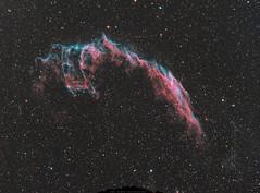 NGC 6992 Les Dentelles du Cygne (Uwe Kamin Photography) Tags: ciel ic nocturne ngc espace astronomy astronomie dark sky messier sh2