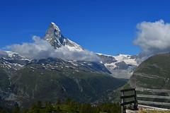 Le Cervin (4478 m) (bertrand.fontaine) Tags: montagne valais suisse matterhorn cervin