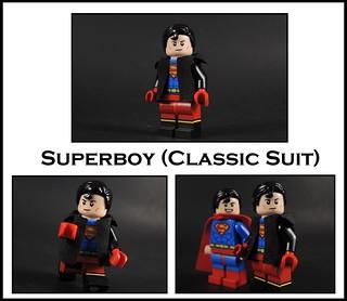 Superboy Classic Suit