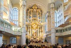 Dresden Frauenkirche (Marat Assanov) Tags: kirche dresden germany indoor architecture
