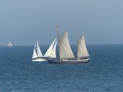 P1080980 - 2018-07-14 - Sunderland - Tall Ships - Parade of Sail (GeordieMac Pics) Tags: ©2018georgemcvitieallrightsreserved sunderland lumix dmc panasonic fz200 tallships july2018 water sea tallships2018 geordiemac paradeofsail sails masts rigging