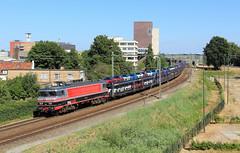 Captrain 1618 @ Hengelo (Sicco Dierdorp) Tags: ct captrain raillogix gefco autotrein serie1600 1618 hengelo badbentheim almelo