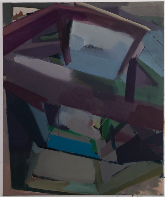 Plorix E7, Eggtempera-Oil-Pigment, 120 x 100 cm, 2018