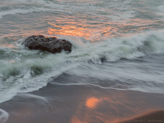 Surf and Rock at Sunset No. 1  -  Del Norte County, California  (2018) (David L. Hoffman) Tags: delnortecounty northcoast ocean surf sunset
