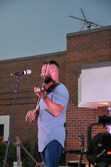 Dawson Hollow (Adventurer Dustin Holmes) Tags: 2018 fbc firstbaptistchurch downtownblockparty lebanonmo lebanon lebanonmissouri missouri event events dawsonhollow music musicians musician band bands concert concerts live performance performers entertainers entertainment group people