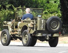 Military Jeep, Redcliffe Way, Bristol 21 July 2018 (Cold War Warrior) Tags: jeep 4x4 military bristol