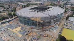 New Tottenham Stadium (Blackwhite1903) Tags: tottenham london soccer football sport stadium venue construction progress project development engineering drone aerial airview