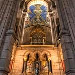 Basilique Sacré-Coeur - Paris - France - Interior Altar thumbnail