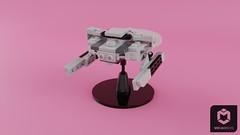 Miranda Class Refit (ORION_brick) Tags: lego star trek miranda class uss majestic sitka saratoga ncc space spaceship ds9 tng sisko dominion refit khan wrath reliant
