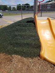 Wichita, KS (Ecoturf Surfacing) Tags: pouredinplacesurfacing syntheticturf bondedrubbermulch safetysurface safety surfacing fall protection protective children kids playground play fun colorful park school rubber cushion squishy recycled waste tire grant money help aid missouri kansas illinois iowa nebraska minnesota oklahoma arkansas omaha chicago kansascity stlouis desmoines