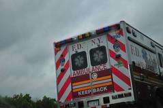 FDNY EMS Ambulance 1390 (Triborough) Tags: md maryland baltimorecounty whitemarsh fdny newyorkcityfiredepartment firetruck fireengine fdnyems ems ambulance ambulance1390 ford fseries f450 wheeledcoach