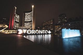 Medicine Wheel and Toronto Sign