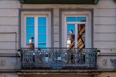 Litauen Reise - Vilnius Altstadt (J.Weyerhäuser) Tags: litauen vilnius altstadt balkon fenter spiegelungen windows balcony reflections