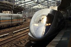 Shinkansen (Teruhide Tomori) Tags: 500series bullettrain superexpress japanrailway japon japan fukuyama hiroshima kodama 500系 こだま 福山駅 広島県 日本 新幹線 山陽新幹線 高速鉄道 列車 電車 jr西日本 train railway railroad shinkansen