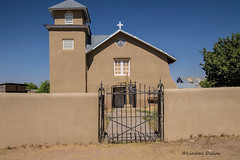 Old Truchas Church of Holy Rosary (Lindell Dillon) Tags: church mission lastruchas newmexico travelphotography taos