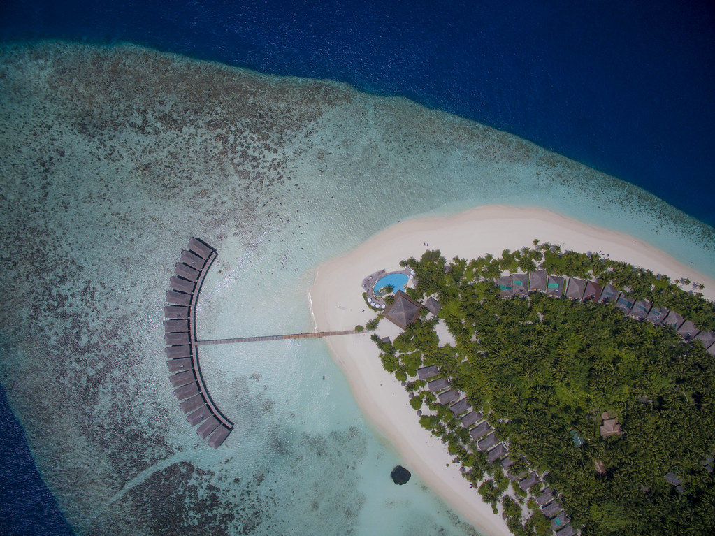 Filitheyo Island Resort - Aerial