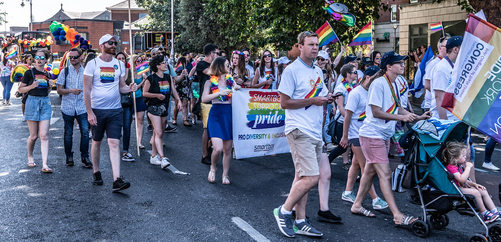 ABOUT SIXTY THOUSAND TOOK PART IN THE DUBLIN LGBTI+ PARADE TODAY[ SATURDAY 30 JUNE 2018] X-100111