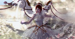 #161 - GUARDIAN OF LIGHT - RL anniversary special edition! 🎉🎈 (rhavena.rasmuson) Tags: angels crystalheart moonamore maitreya catwa look kawaii bday secondlife slavatar secondolife secondlifeavatar {egosumaii} archangelum vincue truth souls white wings