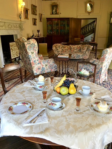 20180621 Tea In Drawing Room Dinefwr Park and Castle Carmarthenshire Wales