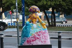 Madrid Las Meninas Parade-9 (meg williams2009) Tags: spain velasquez meninas meninasmadridgallery statues meninasstatues publicart