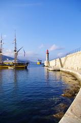 508 - Bastia à travers le Port (paspog) Tags: bastia corse port hafen haven corsica france 2018 vieuxport vieuxgréement mai may