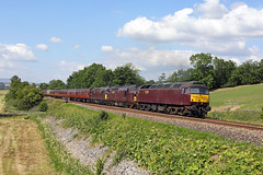 47237+37669+33207 Settle Junction 7th July 2018 (John Eyres) Tags: after bit investigating south settle junction ran out time intended shot 47237 37669 33207 dit with 5z42 1207 carnforth york ecs 070718