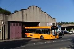 lights off (D Stazicker Photography) Tags: trent bus 688 scania wright l96 matlock depot garage barton