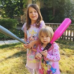 Mornings With The Munchkins (matthewkaz) Tags: madeleine norah daughter daughters summer home house bats burcham eastlansing michigan 2018