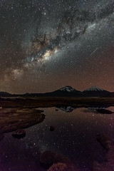 Milkyway over Payachatas (Andres Puiggros) Tags: d500 arica caquena chile landscape nightscape nikon star stars milkyway via lactea milky way payachatas