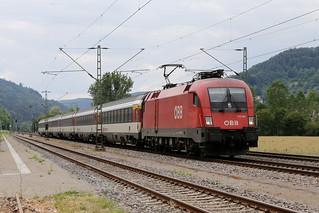 ÖBB 1116 058-9 Intercity, Horb am Neckar