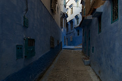Blue Street (jarhtmd) Tags: africa morocco chefchaouen color canon eos70d blue architecture