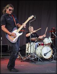 Rockin (Beaman Photography) Tags: bands livemusic guitar drums performing stage music harleydavidson bikenight