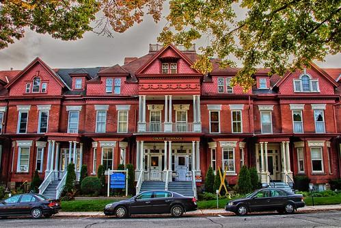 Brockville Ontario - Canada - Court Terrace - Heritage Building