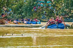 Portishead Raft Race (tramsteer) Tags: tramsteer raftrace portishead somerset bristol sport water ducks