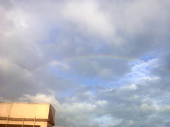 rainbow on Kolkatan sky,monsoon prevails (JAYITA_ MALLICK) Tags: momsoon kolkata skyline rainbow