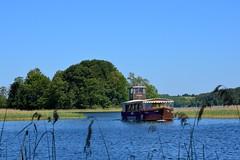 Lithuania /  Trakai / Galve Boat (Pantchoa) Tags: lituanie trakai lac île bateau galve arbres joncs ciel eau promenade tourisme