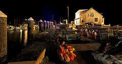 Buoys night out (Bob Gundersen) Tags: boat building buoy buoyant connecticutscenes ct guilford gundersen lobster lobsterlanding lobstershack machine night nightshots nikon places scenes shoreline shots town towndock water waterfront longexposure dark catchycolors black image picture interesting bobgundersen newengland harbor landscape robertgundersen ship usa photo port dock whitfieldstreet nikoncamera flickr lobsterpound conn anchorage wharf outside outdoor marina d600 nikond600 harbour