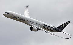 A350-1000 (Bernie Condon) Tags: fbo farnborough airshow display flying aircraft aviation airliner airbus a350 xwb widebody passenger jet twin transport a3501000