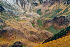 An otherworldly valley (Raoul Pop) Tags: grass color mountains ground stone valley shrubs lichen rocks somewhere oltenia romania ro
