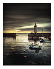 Donaghadee (again} (Deek Wilson) Tags: donaghadee lighthouse thedee northernireland seascape landscape harbour longexposure