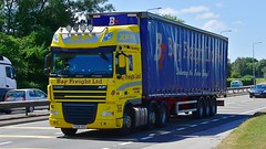 PX08 VKO (Martin's Online Photography) Tags: daf dafxf truck wagon lorry vehicle freight haulage commercial transport a580 l leigh lancashire nikon nikond7200