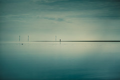 it's ok to be......Whitstable. (stocks photography.) Tags: michaelmarsh whitstable photographer beach tankerton coast seascape theone coastal photography atmospheric cinematic sea