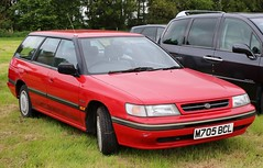 M705 BCL (1) (Nivek.Old.Gold) Tags: 1995 subaru legacy 20 dl 4wd special equipment estate greenways eaton norwich