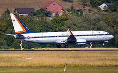 Boeing 737-8Z6(BBJ2) HS-HMK His Majesty King Maha Vajiralongkorn (William Musculus) Tags: zrhlszhzurichklotenairportspotting flughafen hshmk his majesty king maha vajiralongkorn boeing 7378z6bbj2 bbj2 royal thai air force government 737800