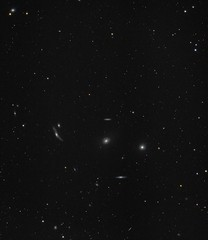Virgo Galaxy Cluster/Markarian's Chain (Ralph Smyth) Tags: markarian galaxy galaxies virgo canon 760d ed80 skywatcher m84 m86 astrometrydotnet:id=nova2713921 astrometrydotnet:status=solved