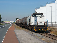 LTE 6406 (jvr440) Tags: trein train spoorwegen railroad railways dordrecht zeehaven lte 6400