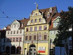 FISCHMARKT, Erfurt, Germany (LuciaB) Tags: erfurt germany fischmarkt artgallery hauszumrotenochsen houseoftheredox renaissancearchitecturestyle jacobnaffzer