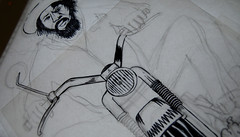 Peaceful_Rastaman_sketch (Rote-grafik) Tags: leroywallace rotegrafik georgechandrinos reggae poster reggaeposter reggaepostercontest roots ganja lion zion motorbike rastaman peaceful foxrecords jamaica thehorsemouth posterillustration illustration copicmarkers copic markers pencil reggaeflag
