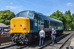 45041, Bridgnorth (JH Stokes) Tags: 45041 royaltankregiment trains photographers severnvalleyrailway railwayphotography class45 bridgnorth